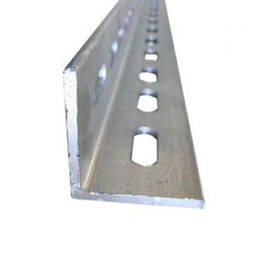 Hot Rolled L Shape Equal Steel Shaped Angle Iron Bar For Construction With Holes