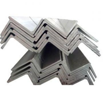China supply Hot Rolled Equal Unequal plain MS galvanized steel angle bar